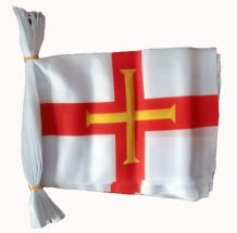 GUERNSEY BUNTING - 9 METRES 30 FLAGS